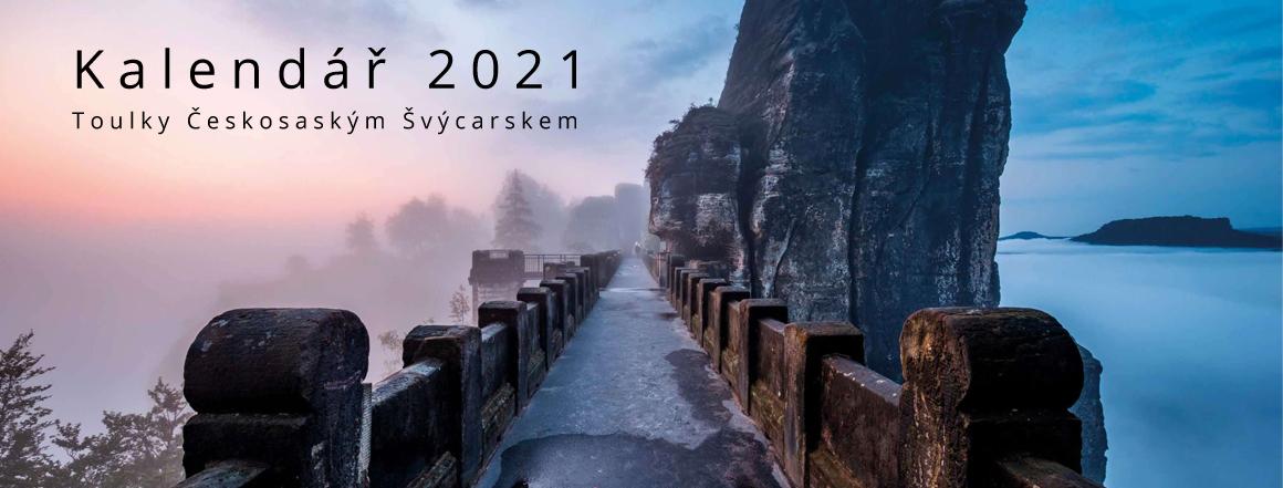 Kalendář Českosaské Švýcarsko 2021