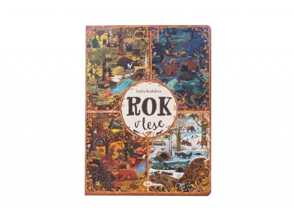 Kniha rok v lese 1