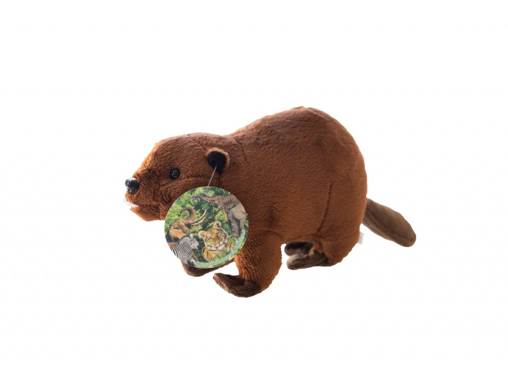 Plysova hracka bobr 1