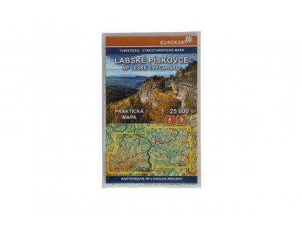 Turistická mapa Labské pískovce a NP České Švýcarsko