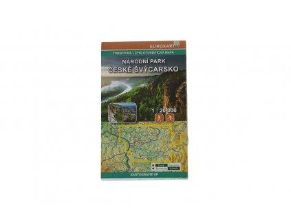 Turistická mapa NP České Švýcarsko 1:20 000