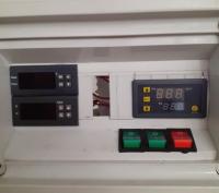 ovládací panel na výrobu černého česneku