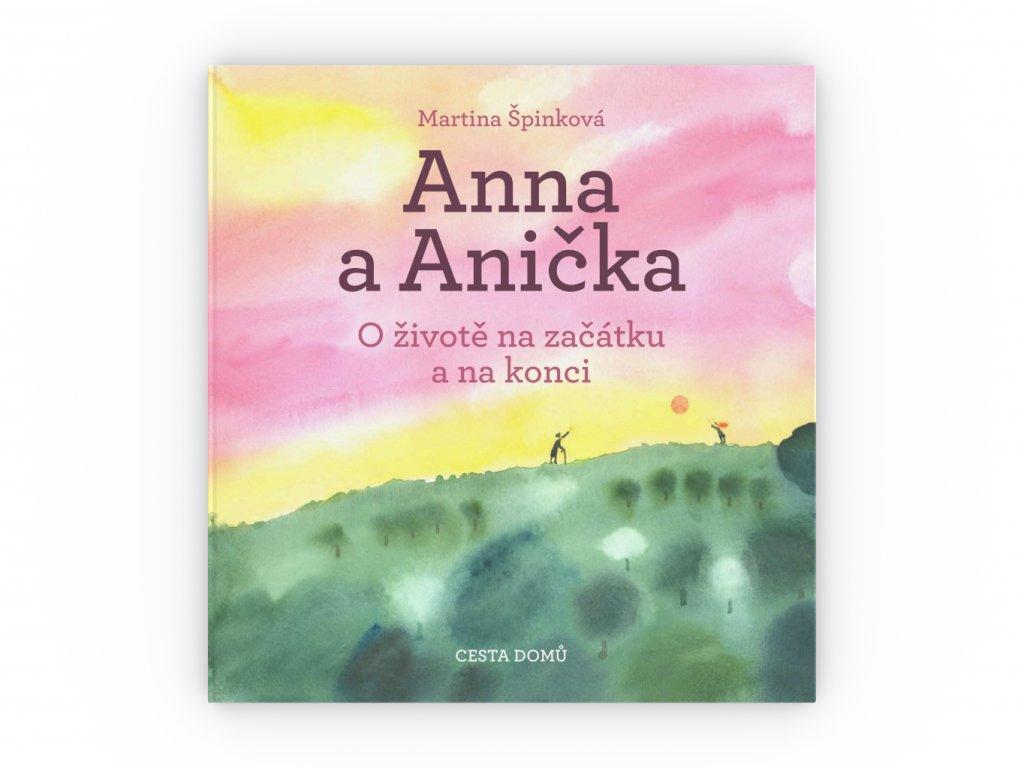 CD kniha Anna a Anicka obalka celni pohled 3D