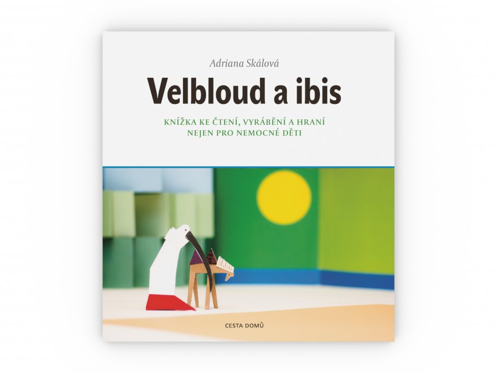 CD kniha Velbloud a ibis obalka celni pohled 3D