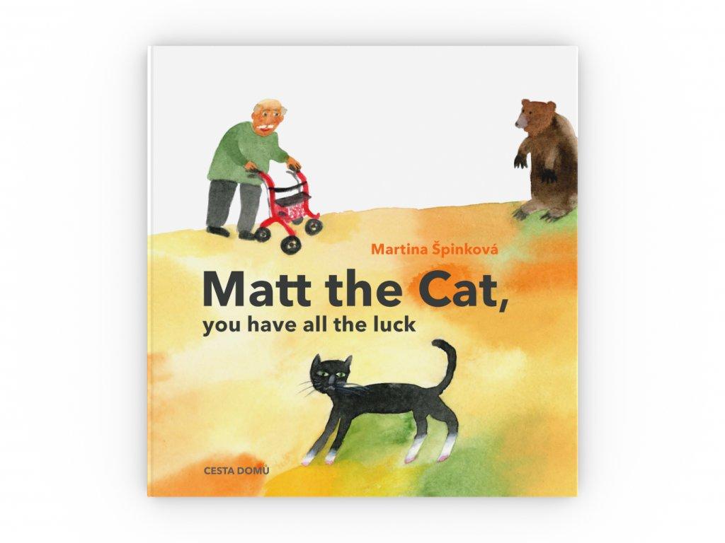 CD kniha Matt the cat obalka celni pohled 3D