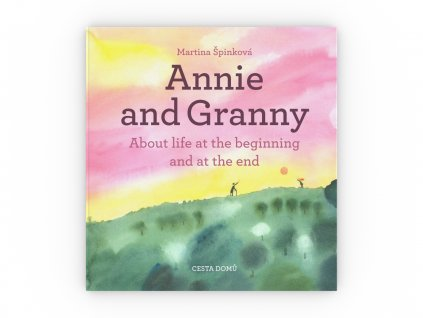 CD kniha Annie and Granny obalka celni pohled 3D