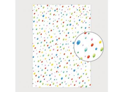 Balicí papír - výběr z motivů - role 5 ks