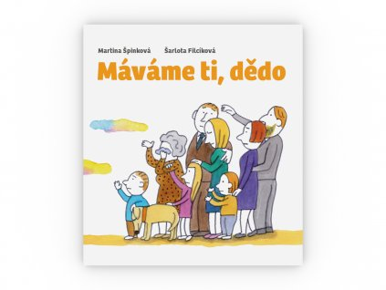 CD kniha Mavame ti dedo obalka celni pohled 3D