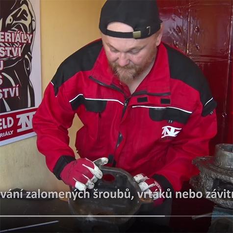 VIDEO Elektroda na zalomené šrouby