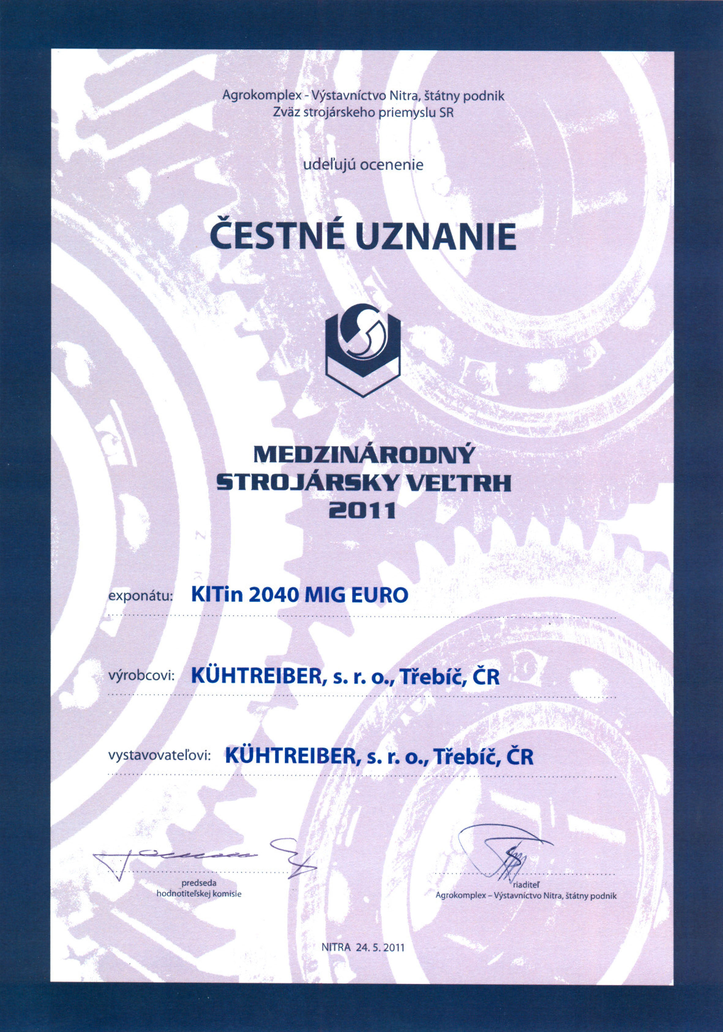 certifikat_msv_nitra_2011_2