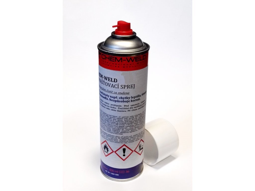 1081 nasakavy sprej cerveny chem weld 9534 sprej 500 ml