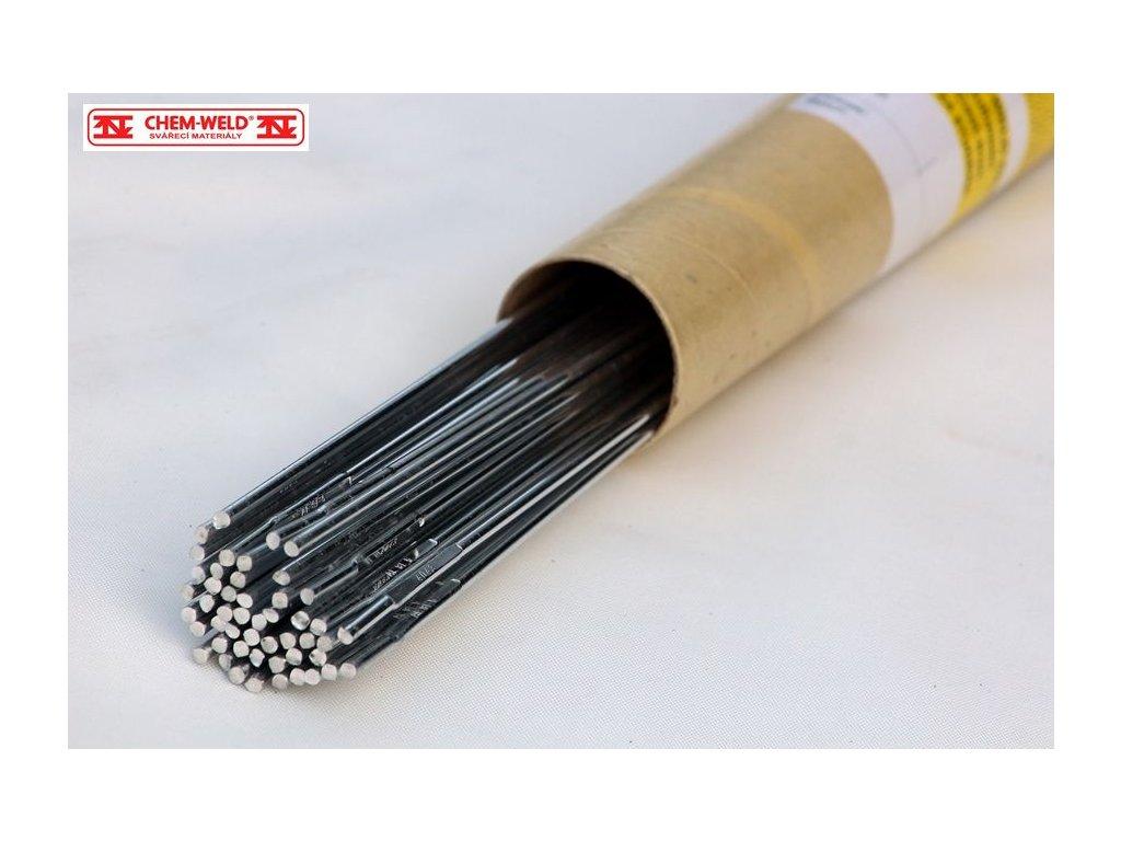 TIG drát pro hliníkové slitiny AlSi5 CHEM-WELD 830W (Balení KG, Průměr 1,6 mm)