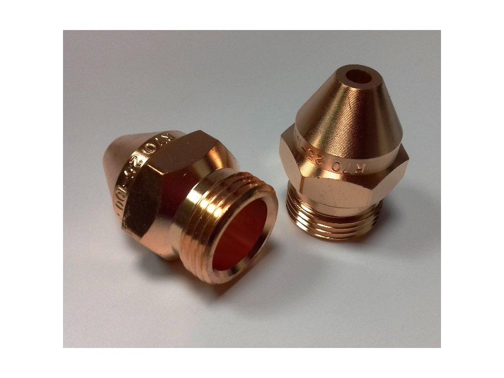 Nahřívací hubice acetylen (TYP 100-300 mm)