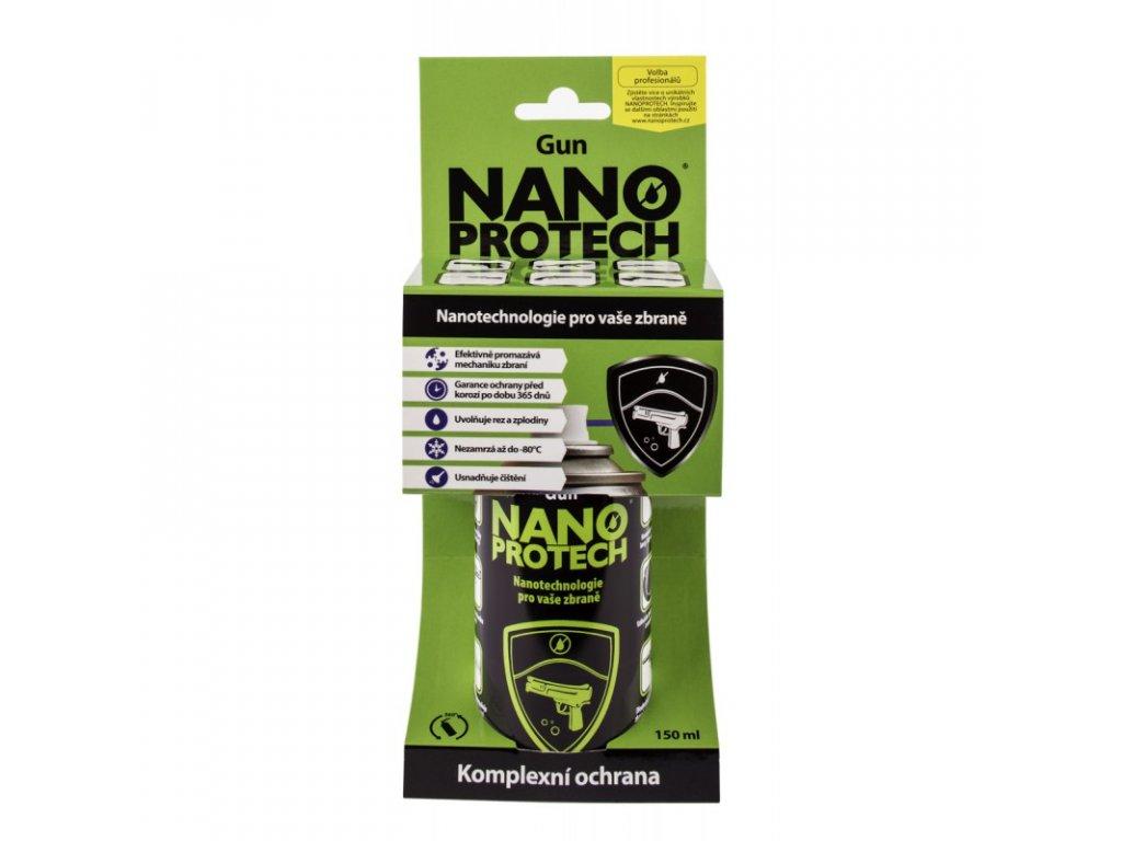 1684 nanoprotech gun sprej ochranny a mazaci pripravek na zbrane