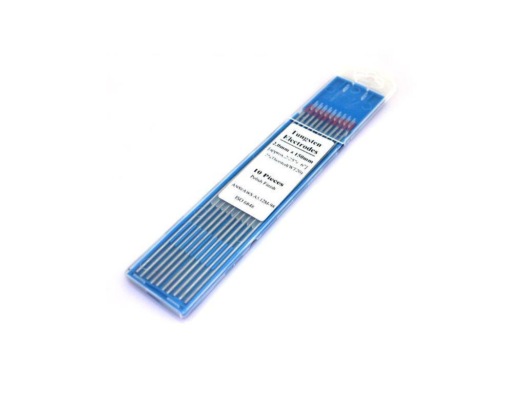Wolframová elektroda univerzální WC (Balení KS, Průměr 1,0 mm)