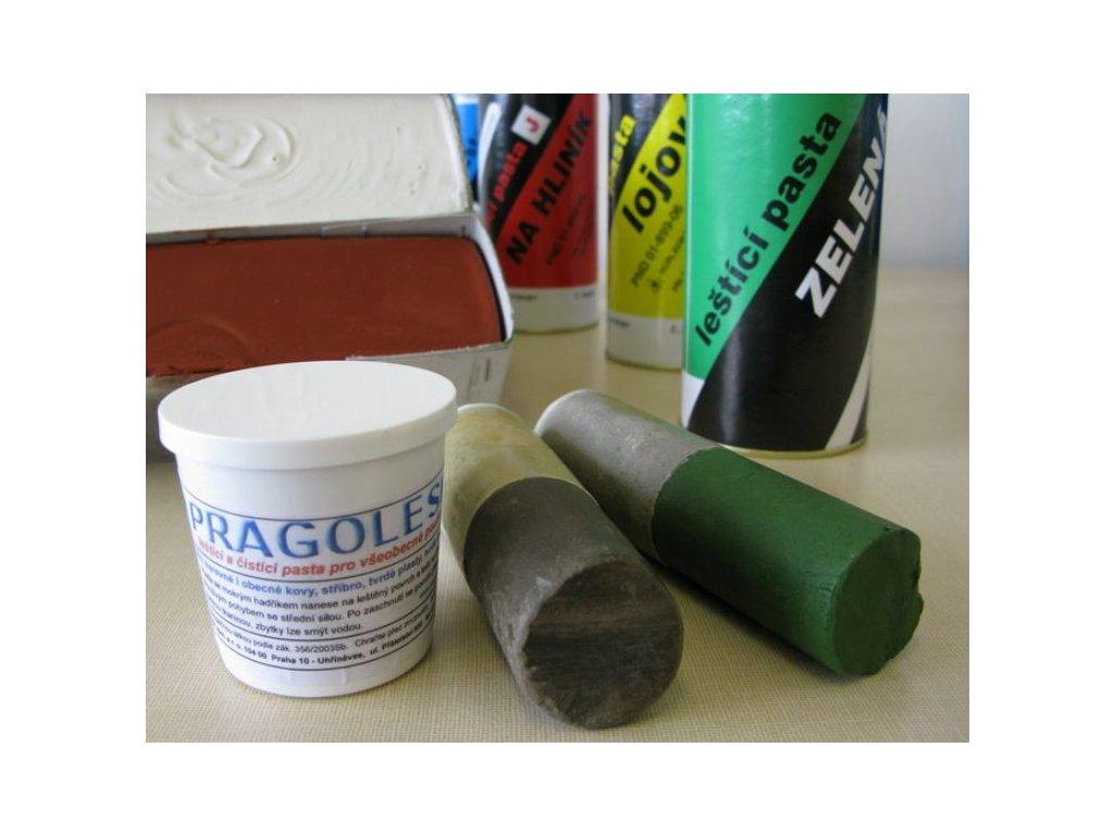 2191 lestici pasta zelena ii a ocel chrom hlinik 125ml