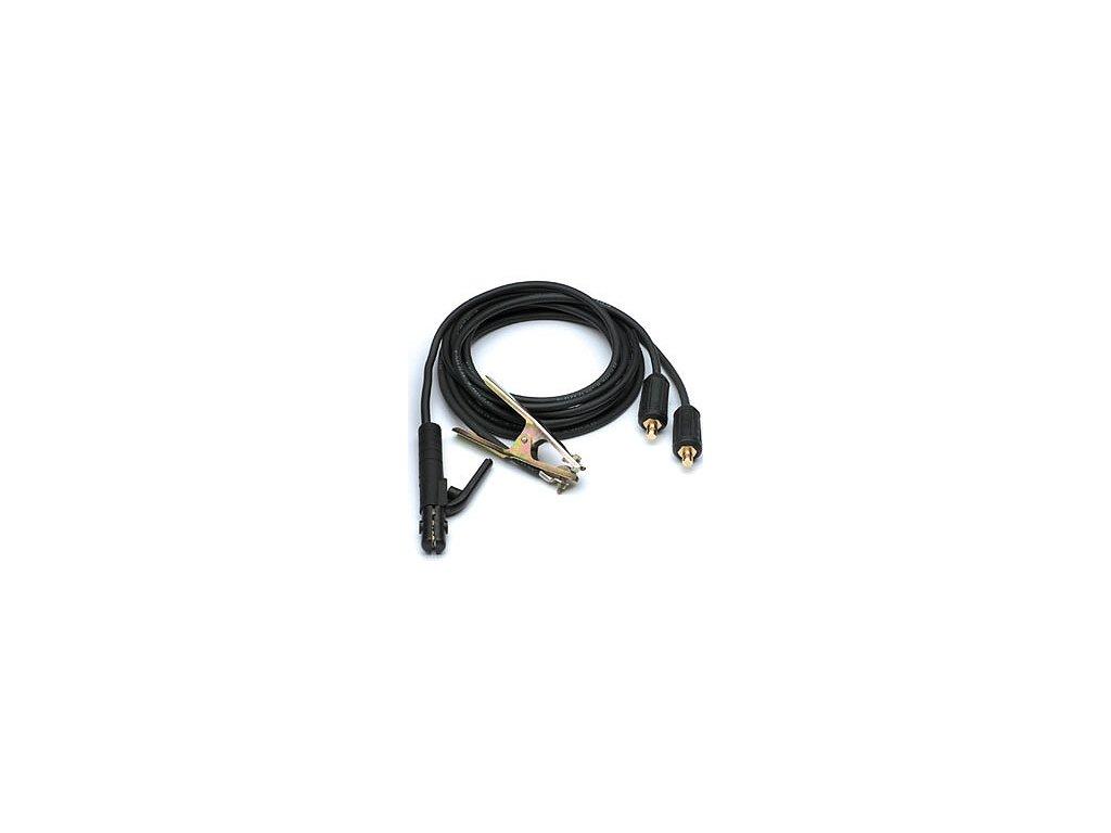 2401 svarovaci kabely komplet 3 m 25 mm konektor pro kabel 35 50mm medene