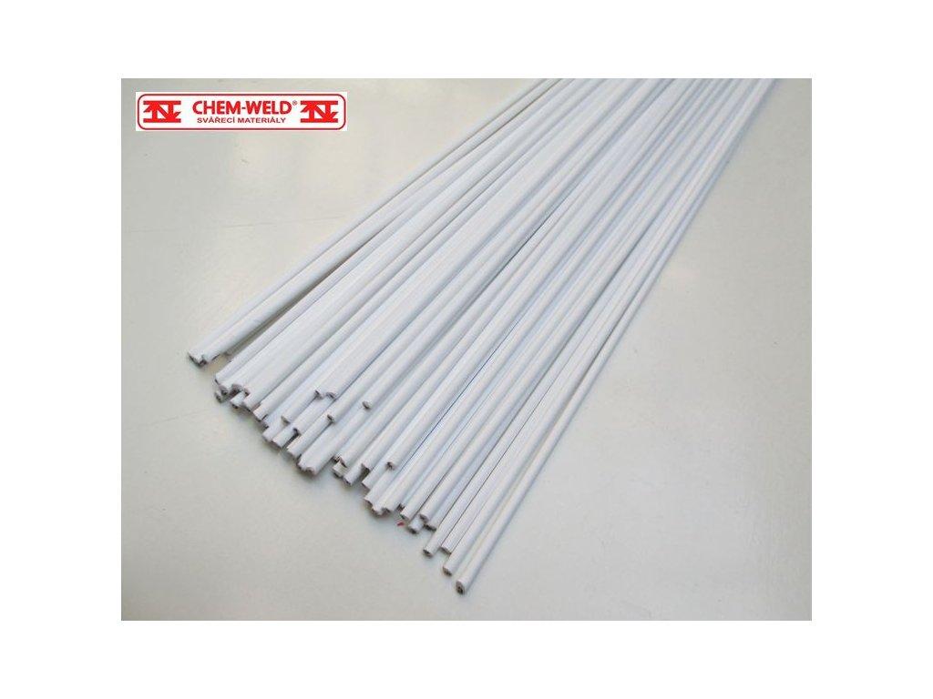 Stříbrná pájka obalená tavidlem 55% Ag CHEM-WELD 504F (Balení KG, Průměr 1,5 mm)