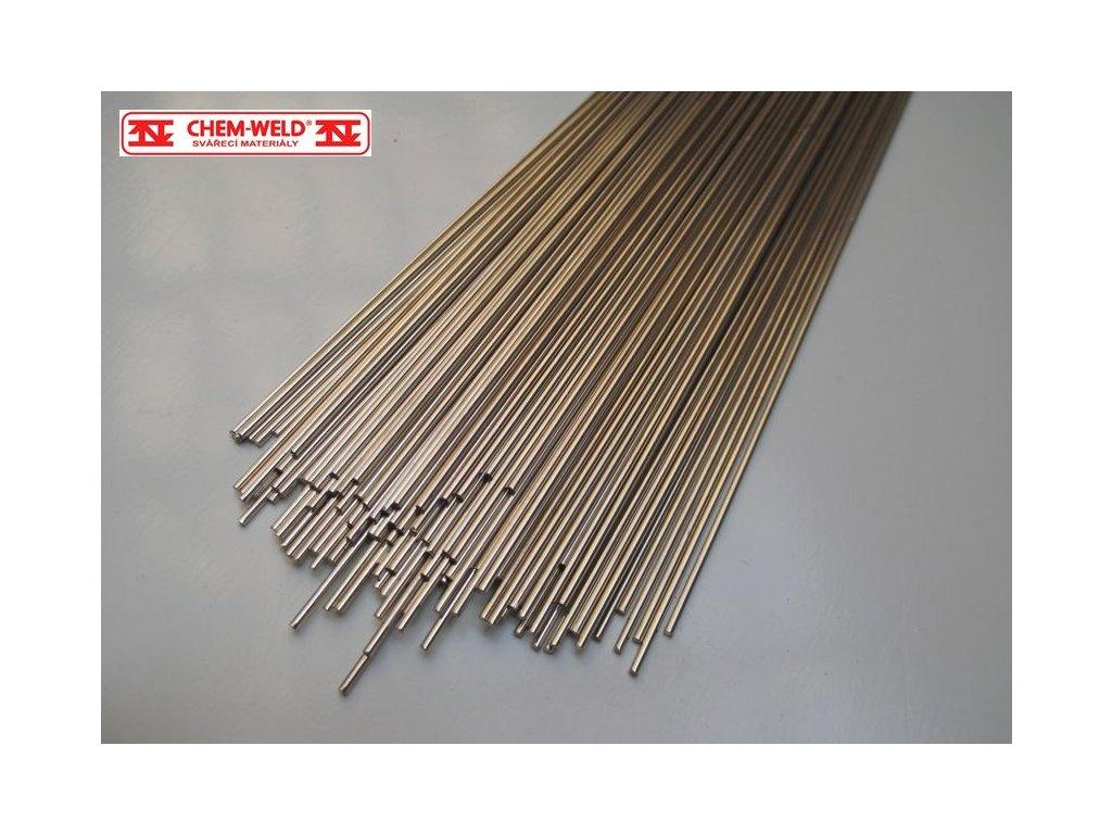 Stříbrná pájka s vysokou tekutostí Ag 55% CHEM-WELD 505B (Balení KG, Průměr 1,0 mm)