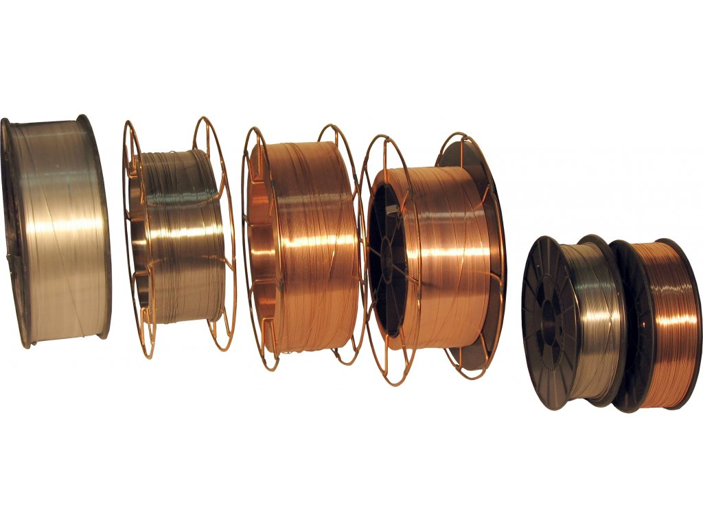 MIG drát na hliník a jeho slitiny AlSi5 CHEM-WELD 870 (Průměr 0,8 mm, Cívka 2 kg)