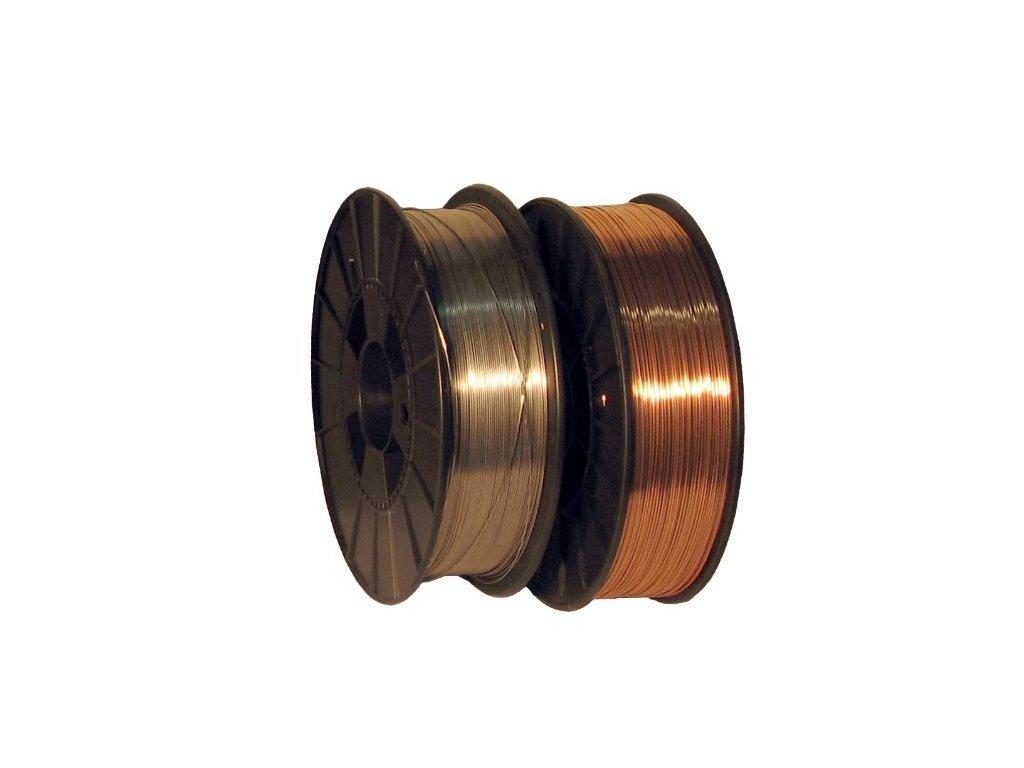 MIG trubičkový svářecí drát bez nutnosti použítí ochraného plynu (Průměr 0,9 mm, Cívka 1 kg)