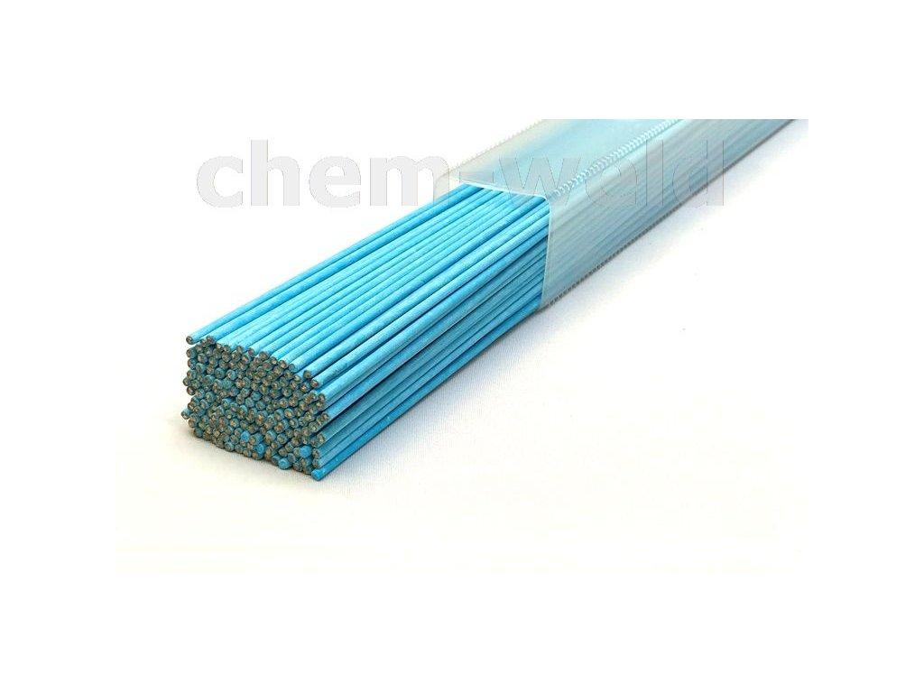 Velmi tvrdá mosazná pájka obalená tavidlem CHEM-WELD 4000 (Balení KG, Průměr 2,0 mm)