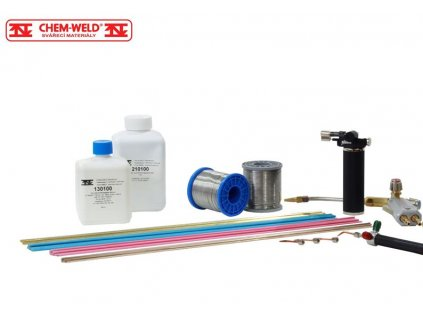 Práškové tavidlo na hliník  CHEM-WELD 120 (Balení 250g)