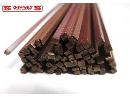 Pájka na měď pro kapilární pájení CHEM-WELD 950 (Balení KG, Průměr 1,5 mm)