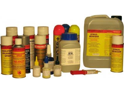 Čistič na nerez CHEM-WELD 2606,mořící gel (Balení KG)