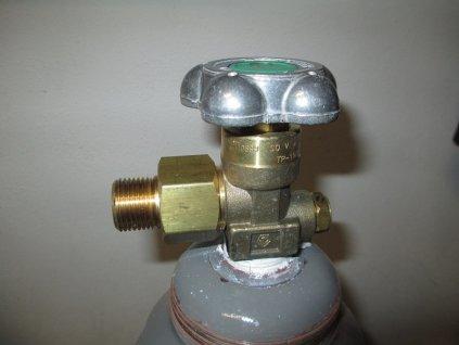 1921 prechodka na co lahev argon