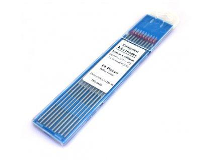 Wolframová elektroda na nerez WT (Balení KS, Průměr 1,0 mm)