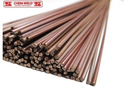 TIG drát pro nízkolegované oceli (Balení KG, Průměr 1,6 mm)