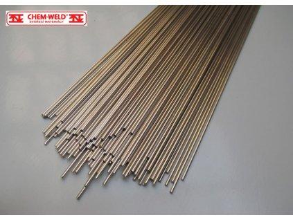 Pájka 20% Ag, CHEM-WELD 542B (Balení KG, Průměr 1,5 mm)