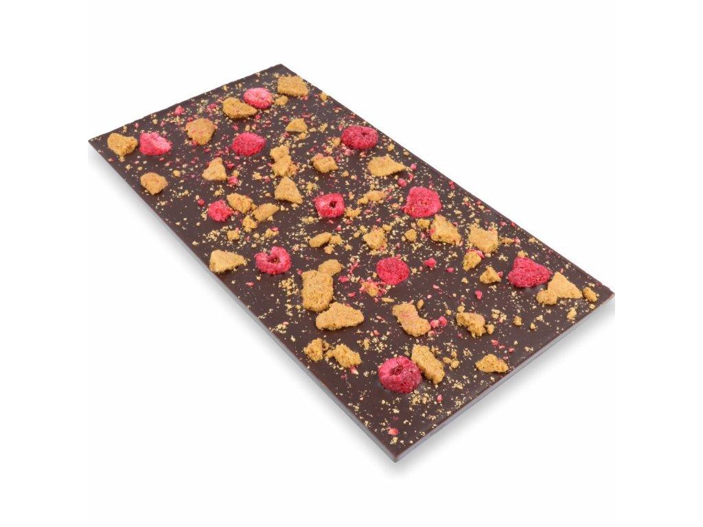 Maxi tabulka 300g - maliny + sušenka