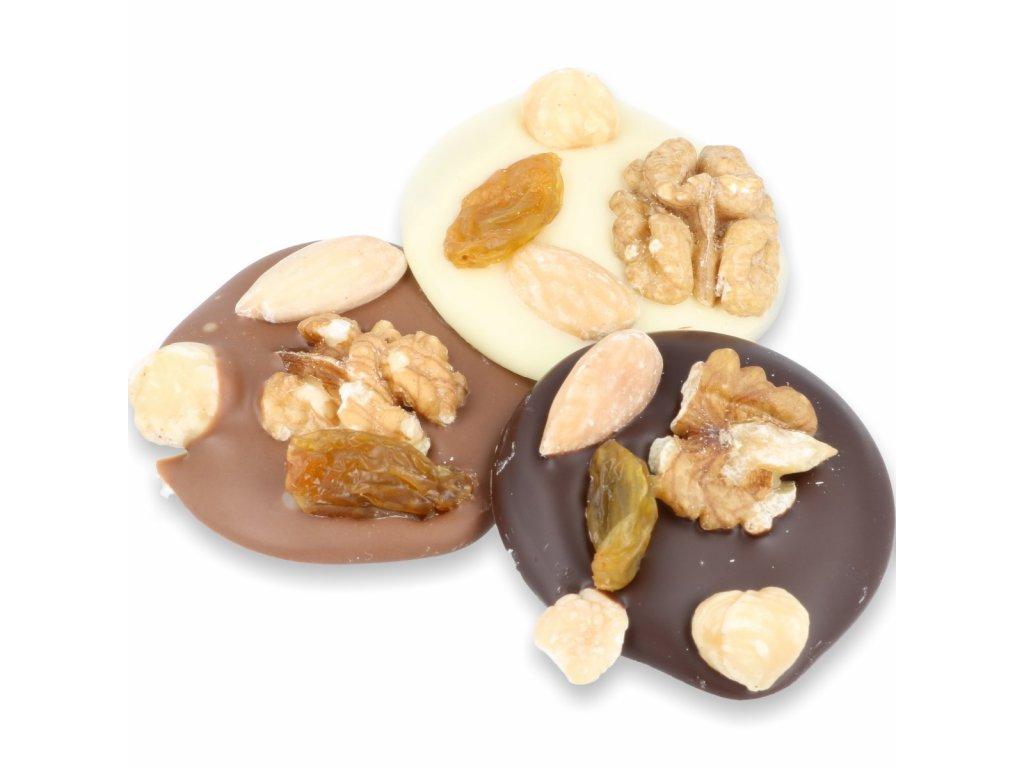 Čokoládová kolečka Sweet Fiber - studentský mix 110g