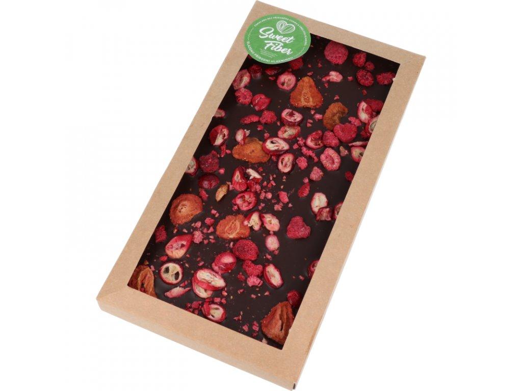 Maxi tabulka 300g Sweet Fiber - lesní ovoce