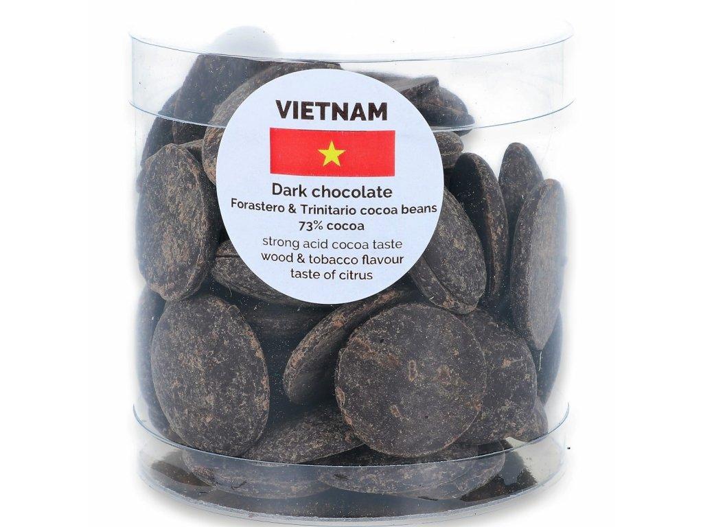 160g Dropsy Vietnam hořké 73%