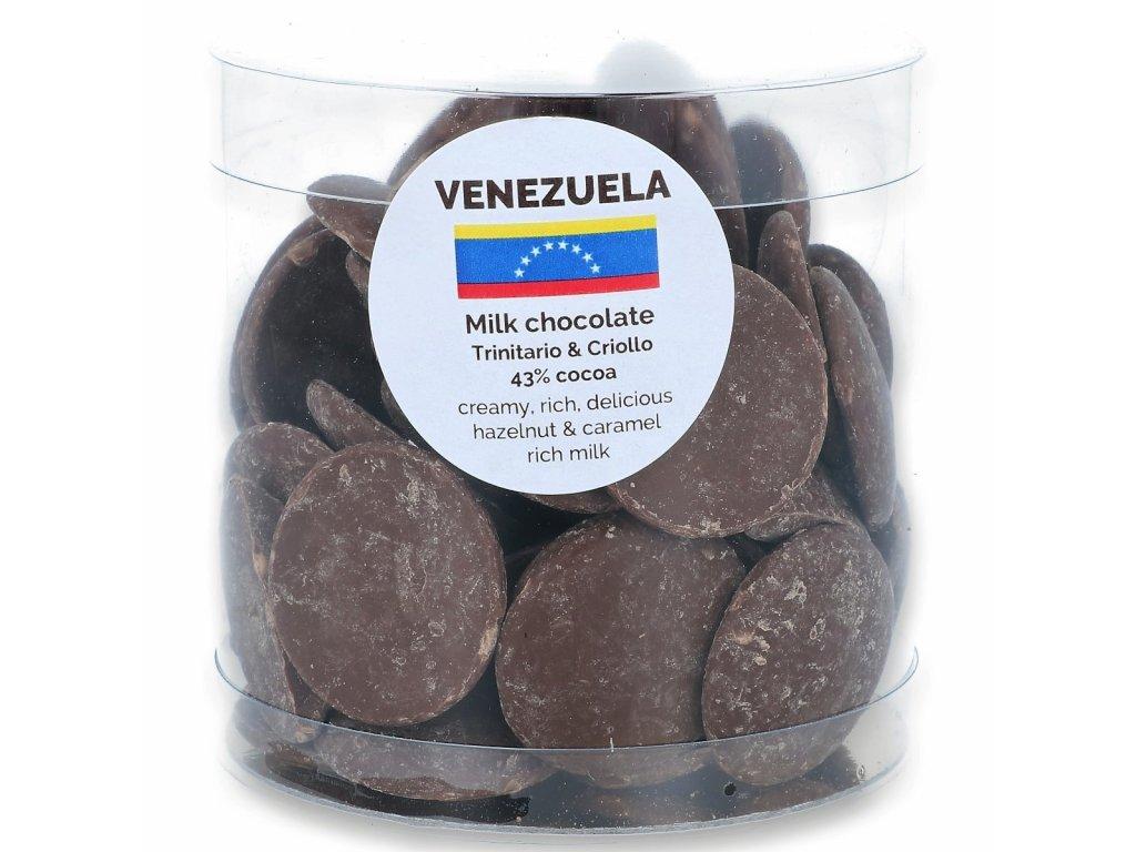 160g dropsy Venezuela mléčné 43%