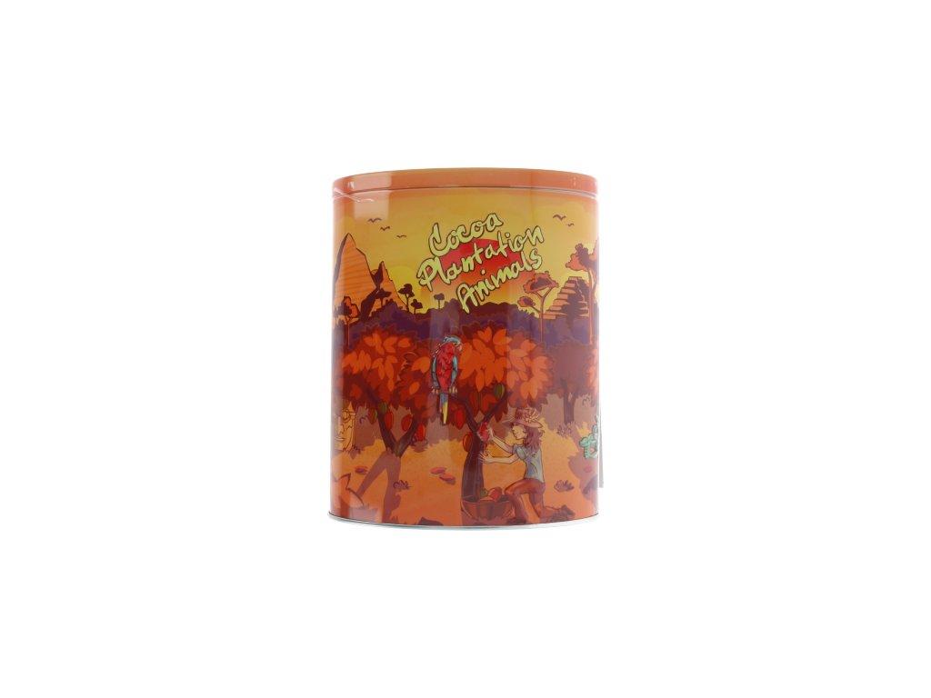 AR plechovka s pravou belgickou čokoládou - Džungle