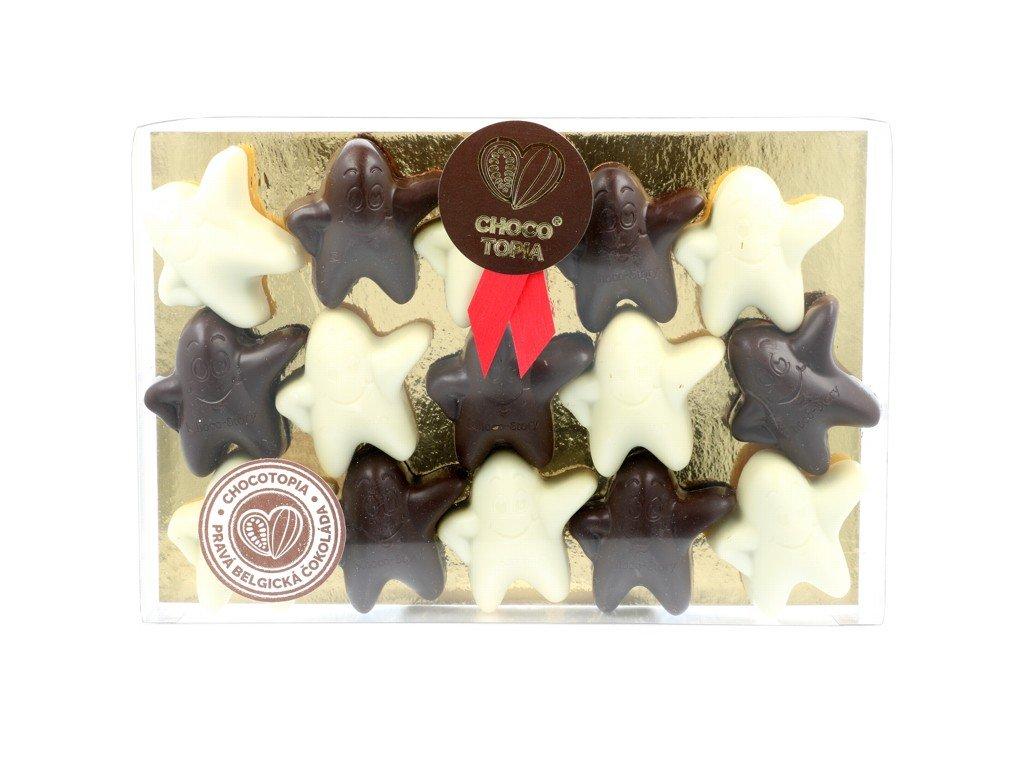 Pralinky Chocolala bílé + hořké 195g