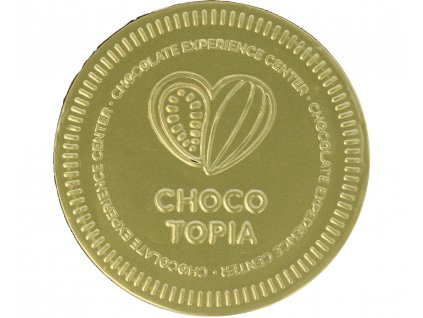 Čokoládová mince Chocotopia/Praha 21g