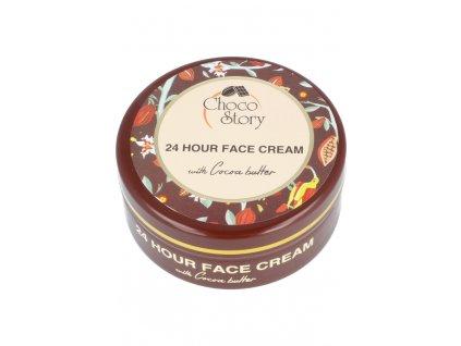 Čokoládový krém na obličej