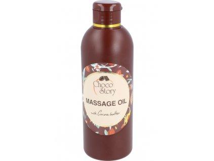 Čokoládový masážní olej