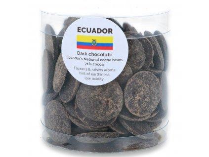 160g dropsy Ekvádor hořké 71%