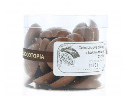 160g Chocotopia dropsy Criollo mléčné 42%