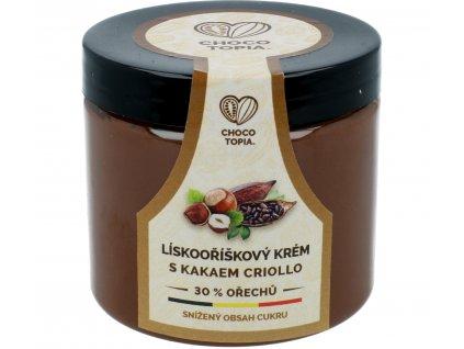 39% lískoořechový krém Chocotopia
