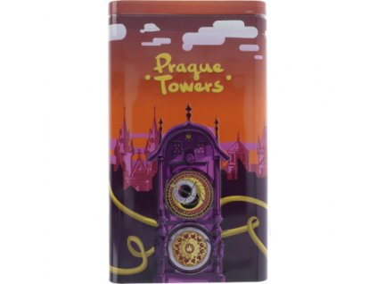 AR plechovka s pravou belgickou čokoládou - Pražský orloj