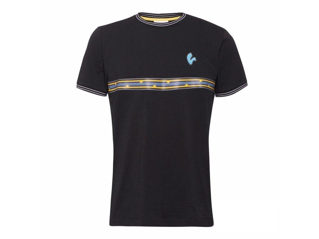 Tričko pánské VESPA V-Stripes černé