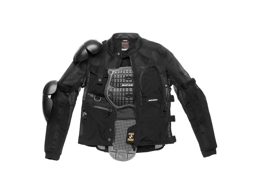 spidi multitech armor evo jacket black 750x750