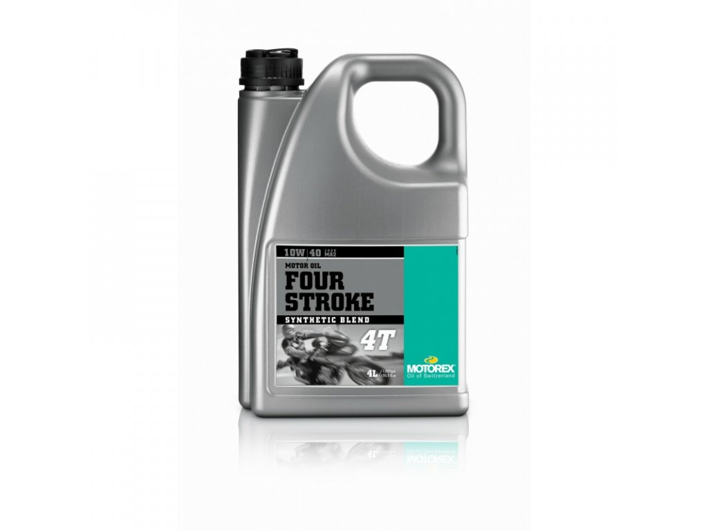 motorovy olej motorex four stroke 4t 10w40 4l